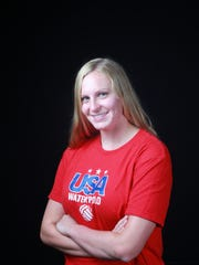 Palm Desert junior Sarah Nichols was selected for the USA Youth National Water Polo team recently.