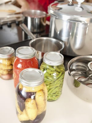 Canning: Preserving Homegrown Fruits Vegetables Fresh from Garden
