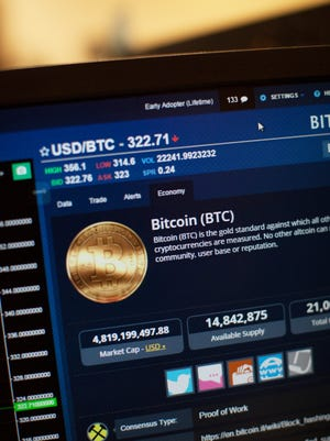 Bitcoin is a digital currency investors can trade.