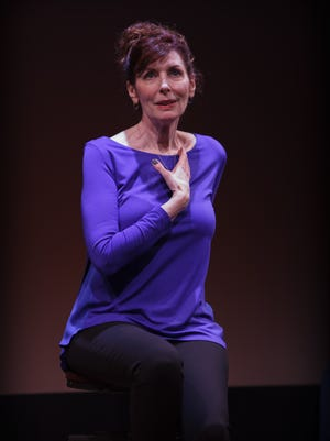 Melinda Buckley wrote and stars in 'Mother (and Me)' at Geva.