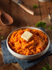 Organic Homemade Mashed Sweet Potatoes
