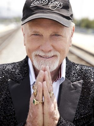 """Mike Love, seen in one of the cover photos for his recent book, """"Good Vibrations: My Life As A Beach Boy,"""" will bring the Beach Boys to the McCallum Theatre Sunday,"""