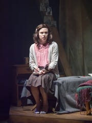 Courtney Lucien starred as Anne Frank in Cincinnati