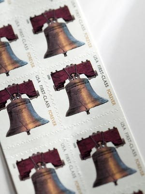 The cost of Forever stamps is going up to 49 cents on Sunday.