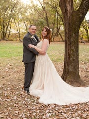 Rachel Martin and Josh May married on Nov. 5, 2016 at the Jack Daniel's Distillery in Lynchburg, Tennessee.