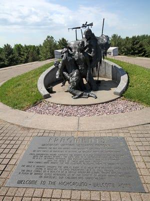 The Highground is a veterans memorial park west of Neillsville.