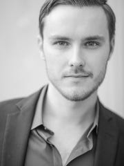 Tenor Austin Cripe will sing the role of Oronte in