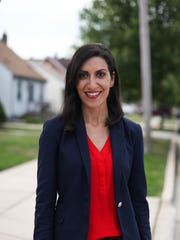 Democrat Fayrouz Saad of Northville is one of four women running in the Democratic and GOP primaries for Michigan's 11th District.