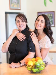 Helena and Rachel Spensatelli, the mother-daughter pair behind The Curious Kitchen