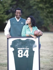Learning about Gene Washington's MSU days brought daughter