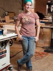 "Onetime Naples resident Carley Eisenberg appears on the reality series ""Ellen's Design Challenge."""