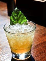 A Basil Julep mixed by Jackie Zykan. April 13, 2015