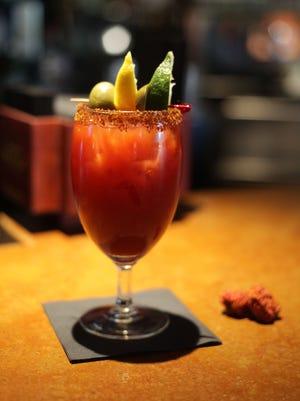 The Carolina Reaper Bloody Mary at Zocolo Neighborhood Eatery and Drinkery