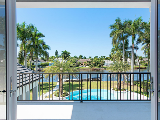 1200 Galleon Drive sold for  $10,100,000 in 2016, making it one of the top 10 Naples home sales of the year.