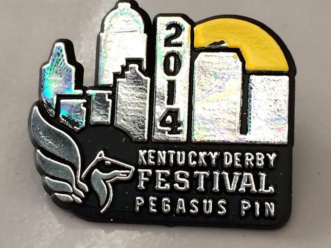 DO: A 2014 Kentucky Derby Pegasus Pin.