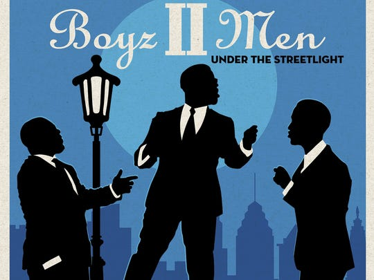 """This cover image released by Sony Masterworks shows """"Under the Streetlight,"""" a 2017 album by Boyz II Men."""