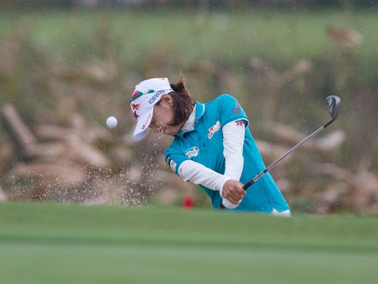 Scenes from Round Three LPGA CME Group Naples Florida