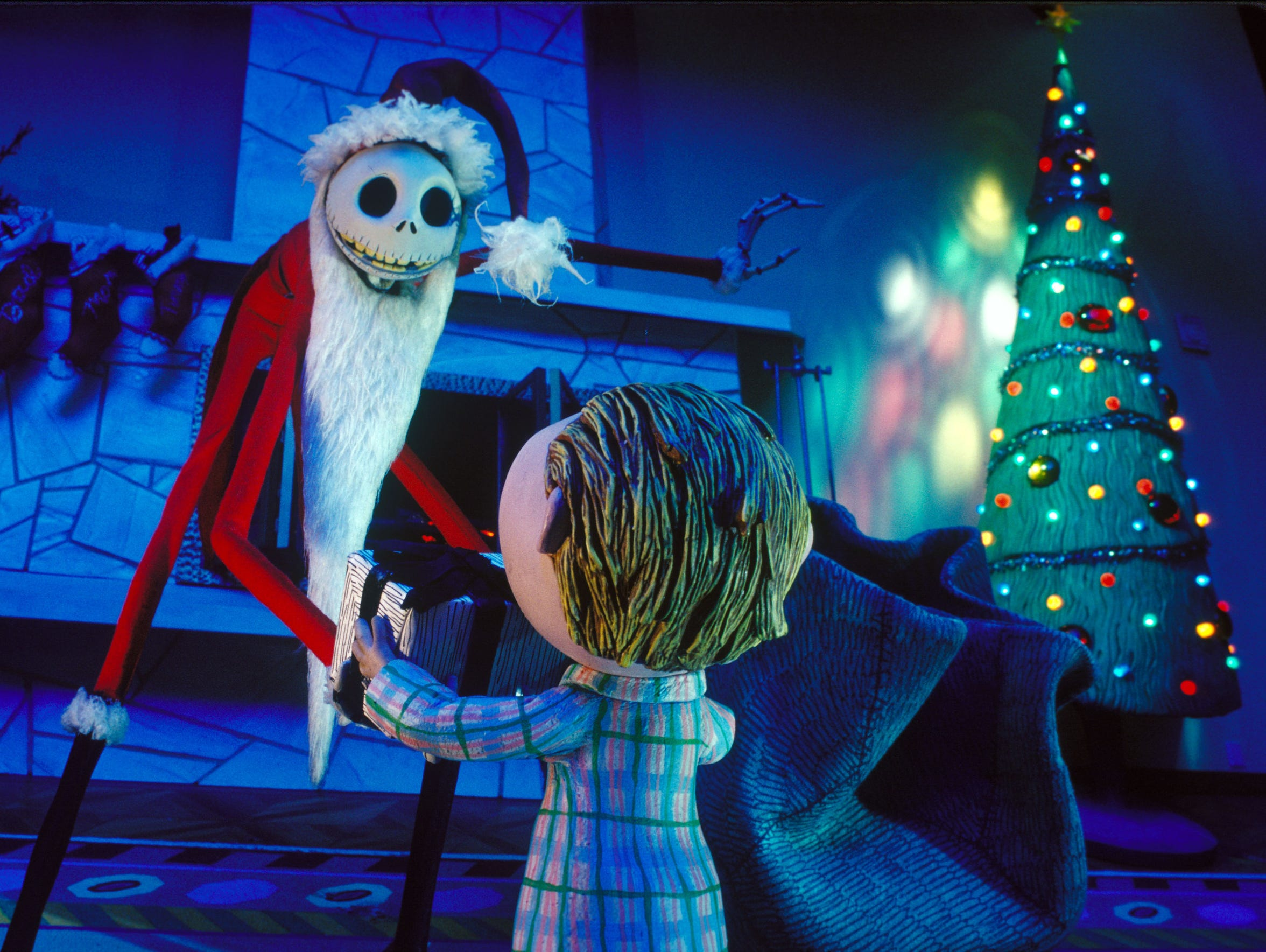 "In ""Tim Burton's Nightmare Before Christmas,"" Jack Skellington tries to bring his version of holiday cheer to Halloween Town."