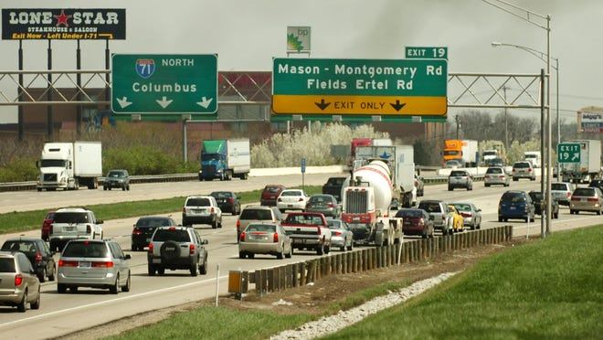 An average of 80,000 vehicles a day use the Interstate 71 interchange at Fields Ertel Road. Improvements in recent years have attempted to alleviate congestion.