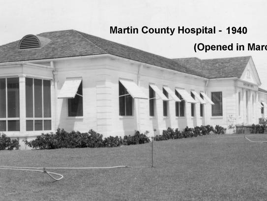 Martin County Hospital in 1940
