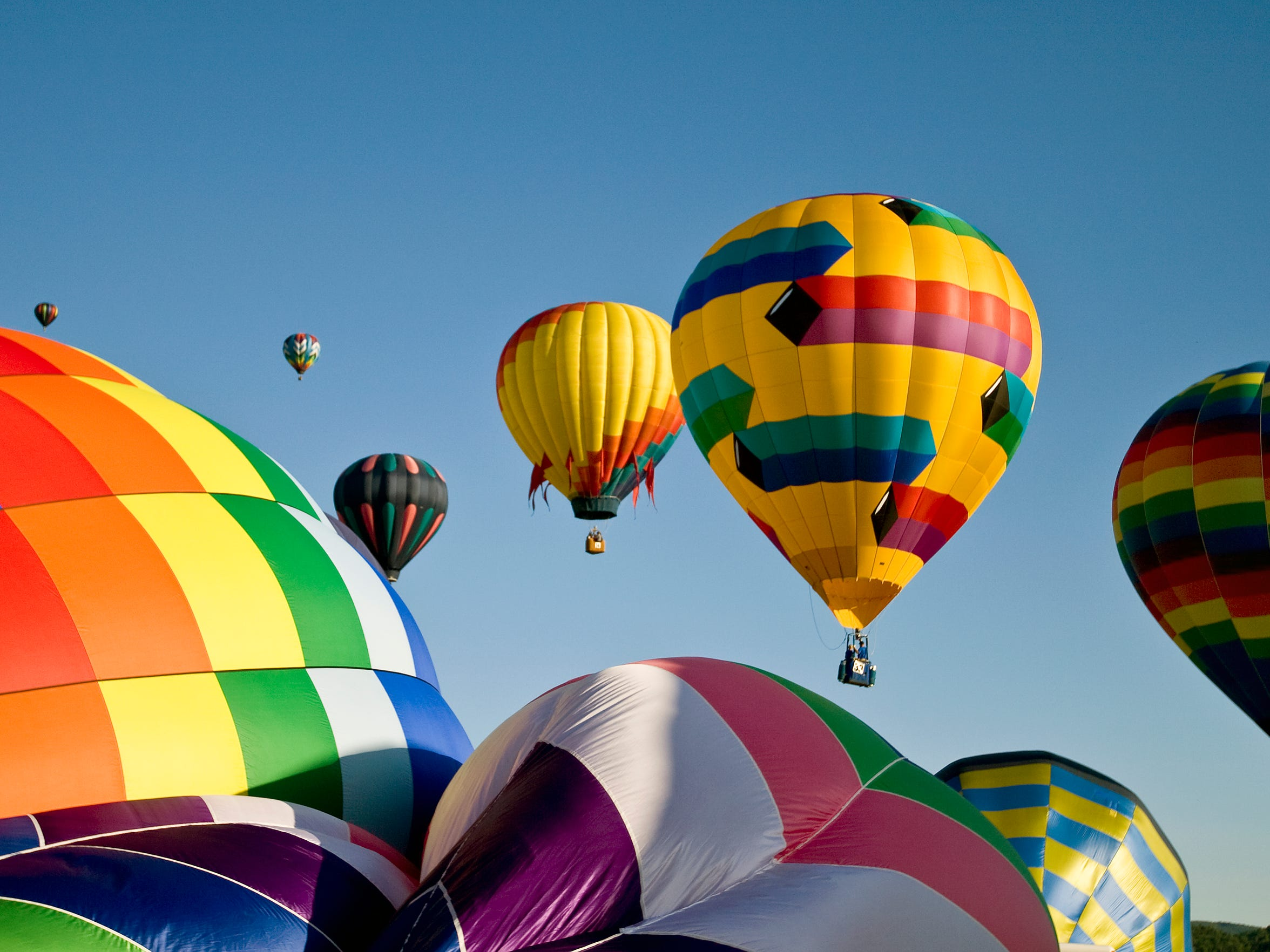 The New York State Festival of Balloons begins Friday at Dansville Municipal Airport. Balloon launches (weather permitting) are at 6 p.m. Friday; 6 a.m. and 6 p.m. Saturday and Sunday; 6 a.m. Monday. Admission is $5; free for children 11 and younger.