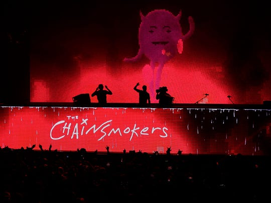 "The Chainsmokers' ""World War Joy"" tour, featuring Five Seconds of Summer and Lennon Stella, stops at Fiserv Forum Nov. 12."
