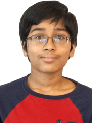 Jashun Paluru, 12, from Battle Ground Middle School