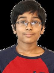 Jashun Paluru, 12, from Battle Ground Middle School in West Lafayette
