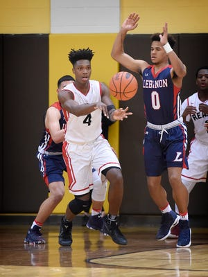 Reading's Lonnie Walker passes the ball in this file photo.