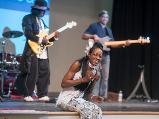 The Truth featuring Cat Rhodes will perform at Sunday's Blues on the Bay at the Community Maritime Park Hunter Amphitheater.