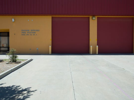 When the Radium Springs fire district was last evaluated, it had zero volunteers. It now has eight plus three paid firefighters.