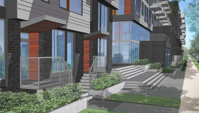 A rendering of Pullman Park a new development coming to Lafayette Park.