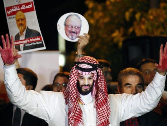 Turkey Saudi Arabia Writer Killed (2)