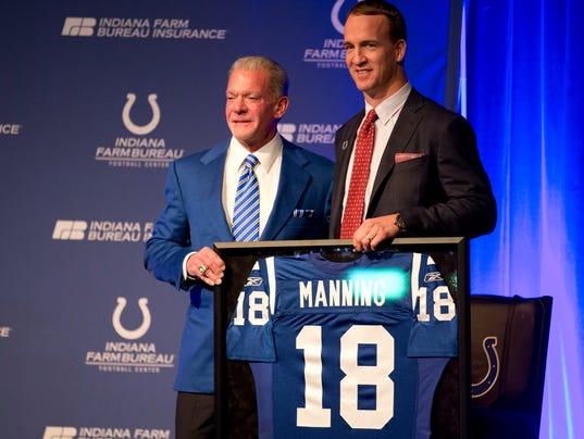 Peyton Manning, Jim Irsay