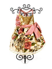 The Vintage Rose Collection Pink Roses Dress, $259,