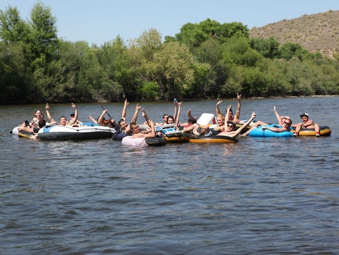 Salt river tubing opens its season 5 16 for Lower salt river fishing