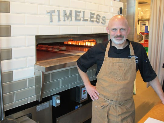 David Nelson is the executive chef of Timeless, located