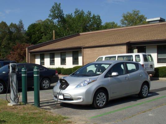 EV charging in Ellenville