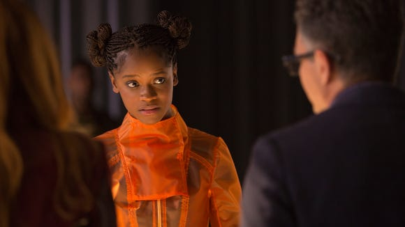 """Black Panther"" breakthrough Letitia Wright reprises her role as Wakandan teen tech whiz Shuri in ""Avengers: Infinity War."""