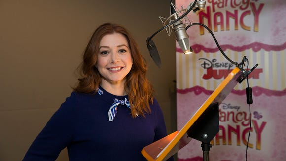 Alyson Hannigan voices the role of Claire Clancy on