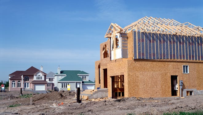 Permits for new home construction are up this year.