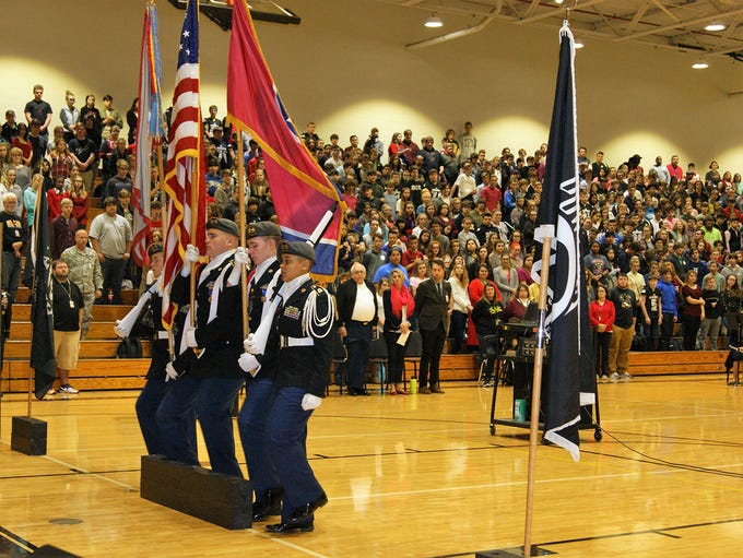 Fairview High hosts a special assembly to remember