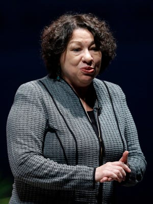 U.S. Supreme Court Justice Sonia Sotomayor was one of two justices to dissent in the court's decision not to hear Mario Dion Woodward's appeal Monday, Nov. 18, 2013.
