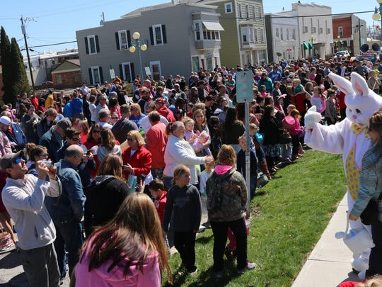 Around 500 people attended the annual Oak Harbor Easter Egg Hunt on April 8. On Saturday, Community Egg Hunts are planned in Port Clinton and Genoa.