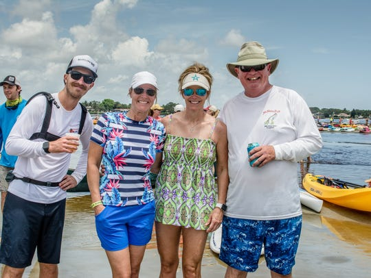These folks are part of the largest paddle event ever