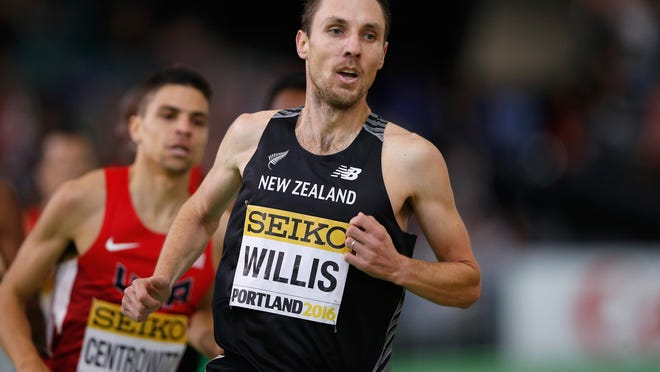 """Nick Willis, who competes for New Zealand but lives in Ann Arbor, said he and his wife have """"decided to delay adding to our family, for the meantime."""" She will accompany him to Rio."""