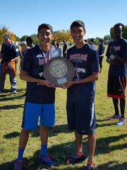 Former Eastwood High School runners Deric Martinez