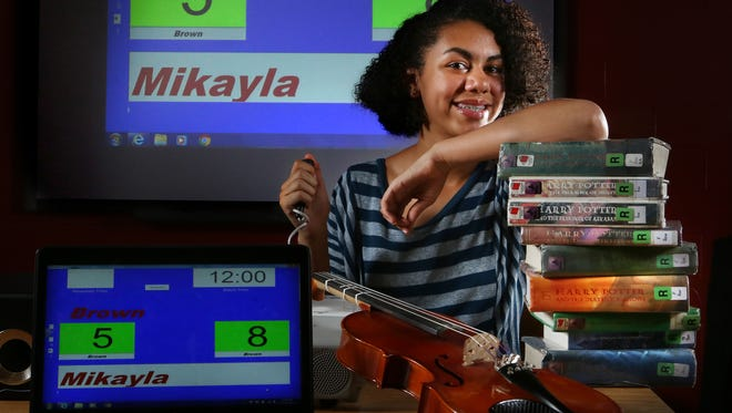 Brown School student Mikayla Pitmon enjoys playing the viola, reading Harry Potter novels, sci-fi, and is member of the Brown School Quick Recall Team.December 14, 2015