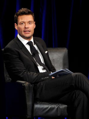 Ryan Seacrest didn't go too wild with this look on Jan. 14, 2014 in Los Angeles.