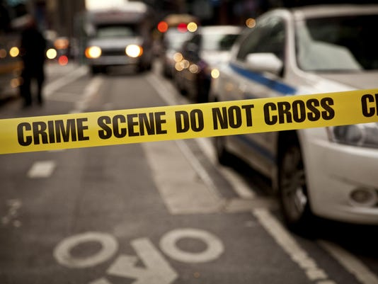 Crime scene illustration